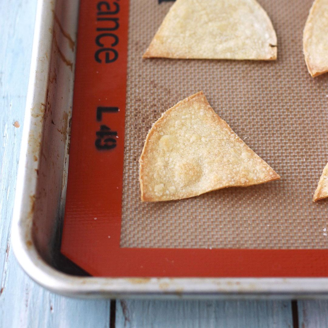 Toaster Oven Corn Tortilla Chips