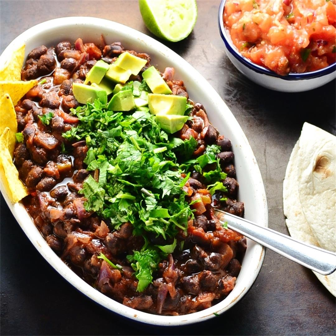 Easy Mexican Bean Stew