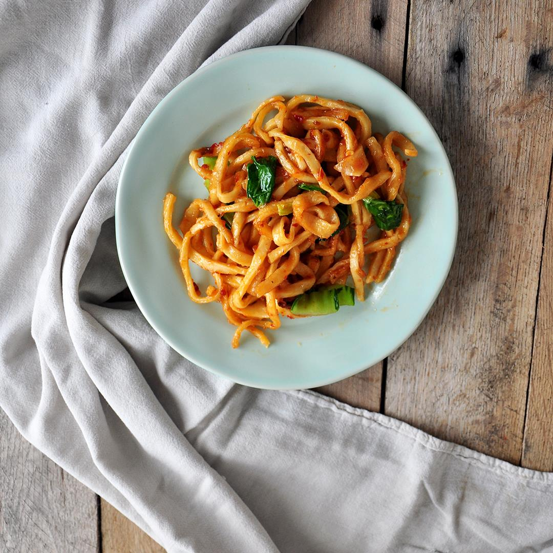 Homemade Chow Mein Noodles Recipe