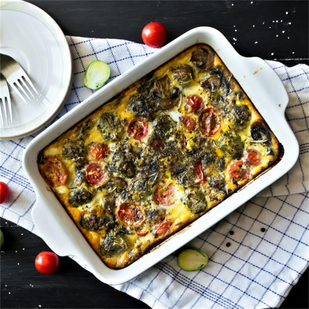 Breakfast frittata – Mothers Day brunch