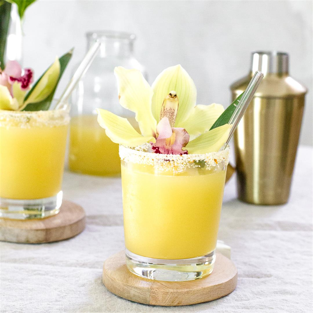This Pineapple Kalamansi Margarita is inspired by Filipino Flav