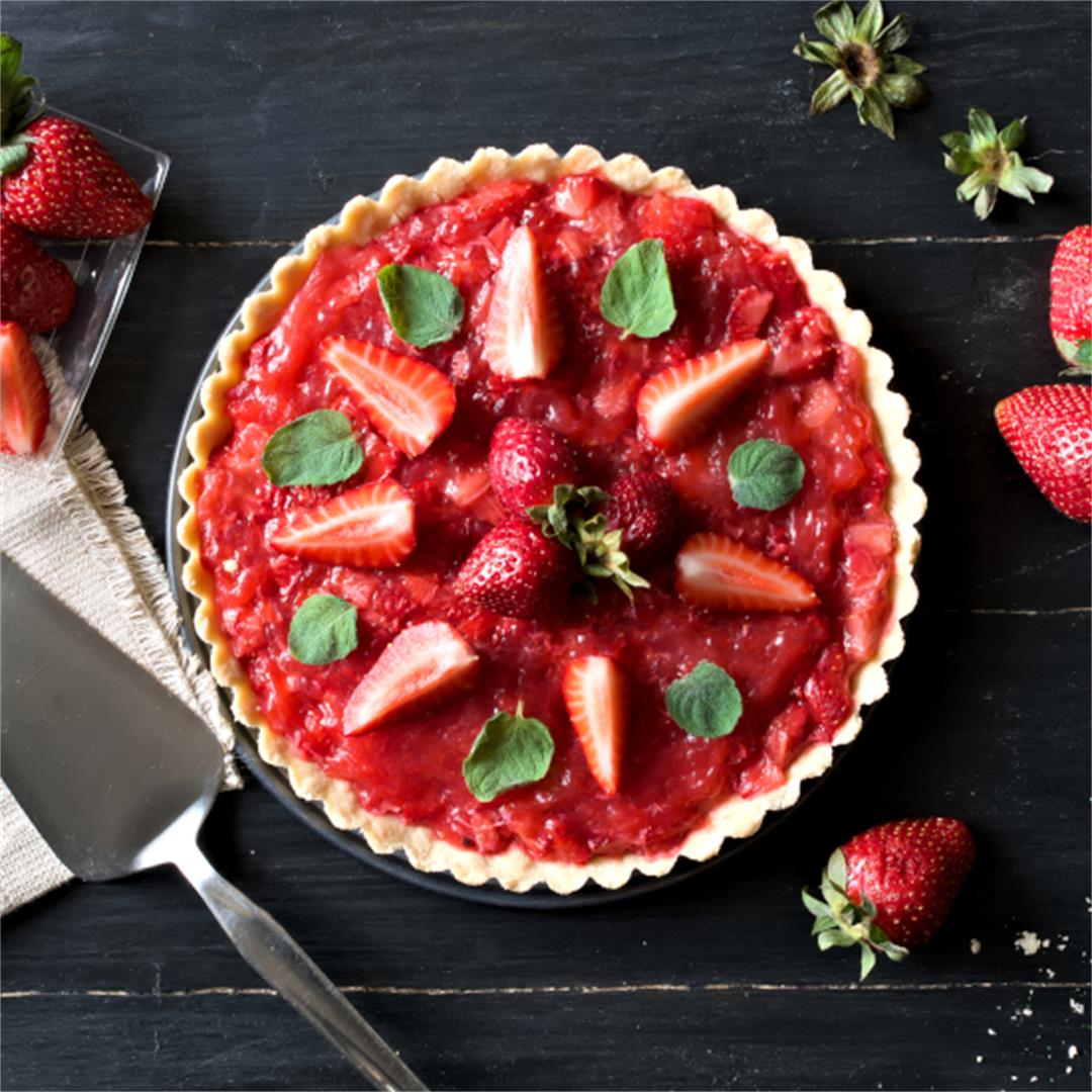 Easy strawberry tart – Strawberry desserts
