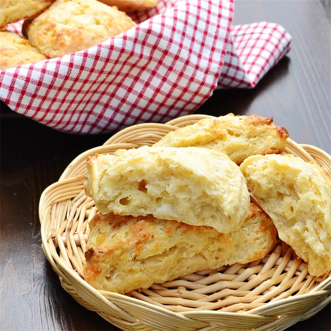 Cauliflower Cheese Scones