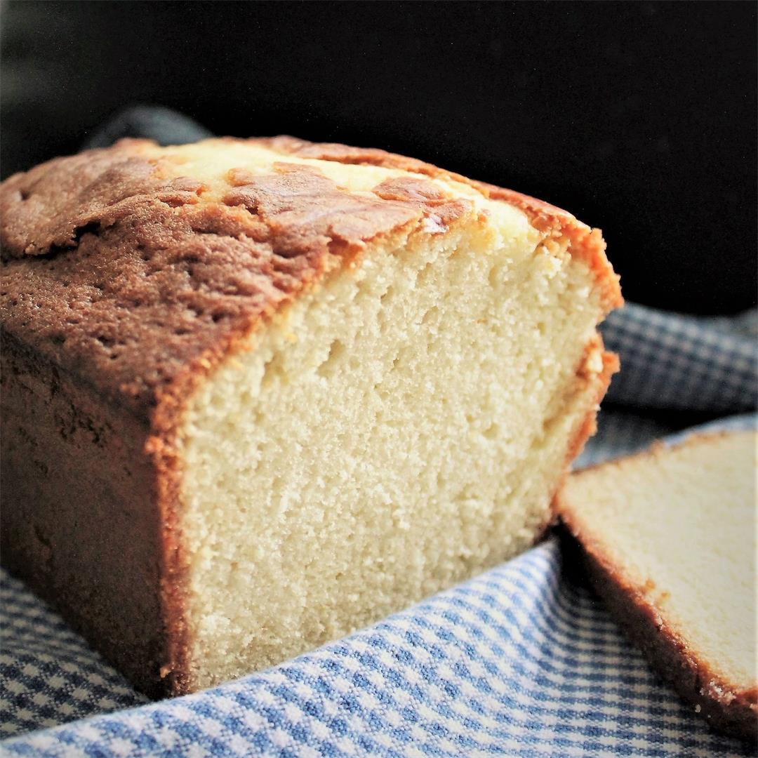 Ina Garten's Honey Vanilla Pound Cake