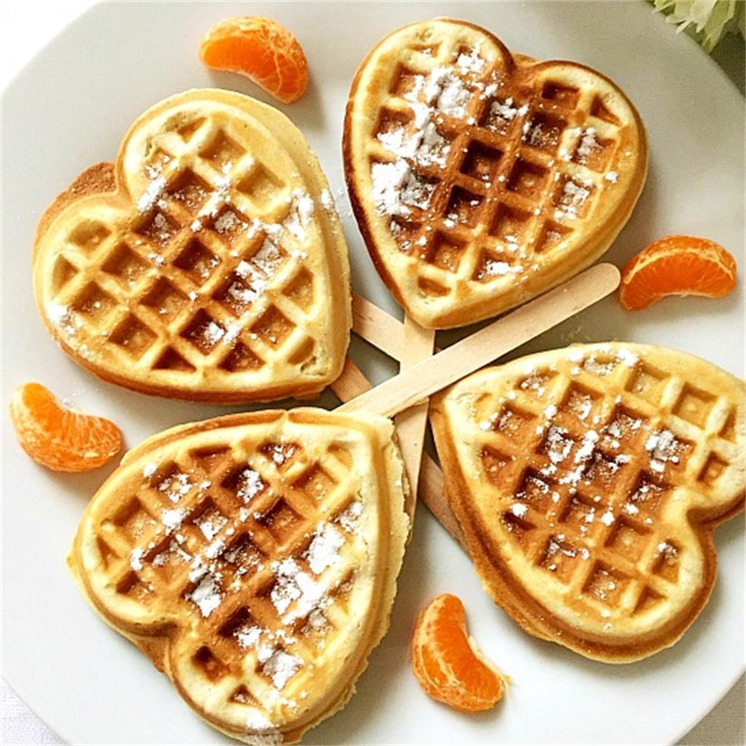 Cinnamon Waffles