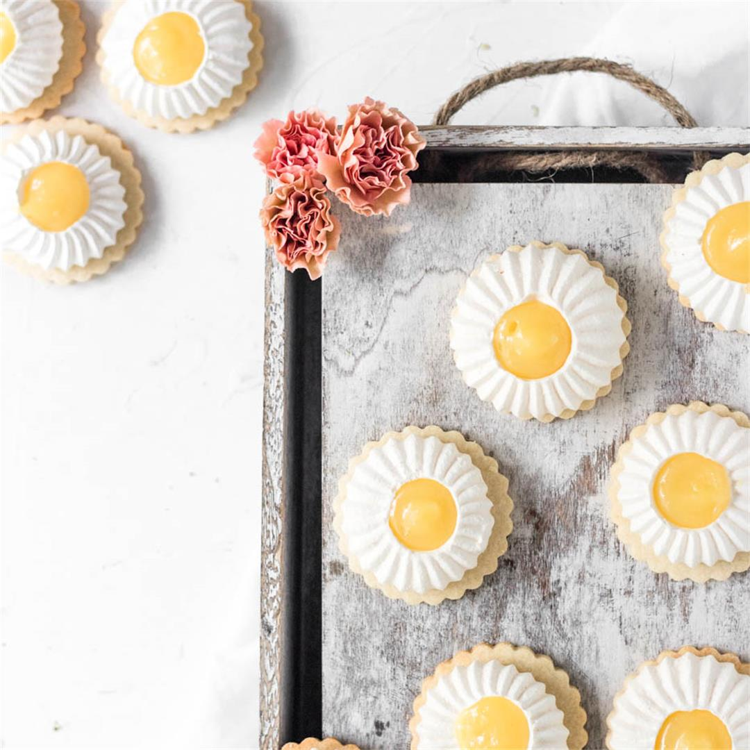 Lemon Meringue Cookie Tarts