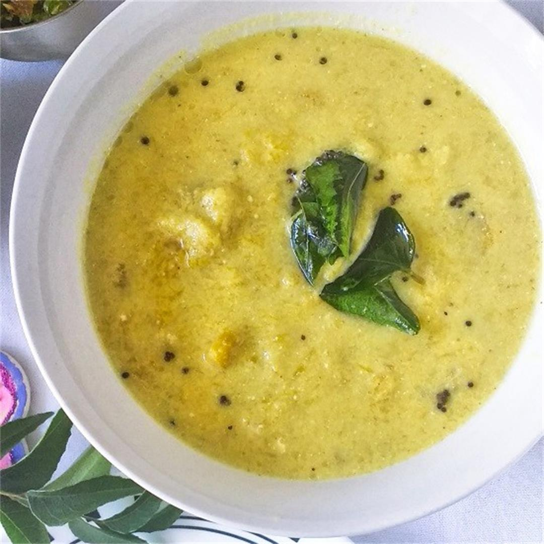 Ripe Mango Yogurt Curry