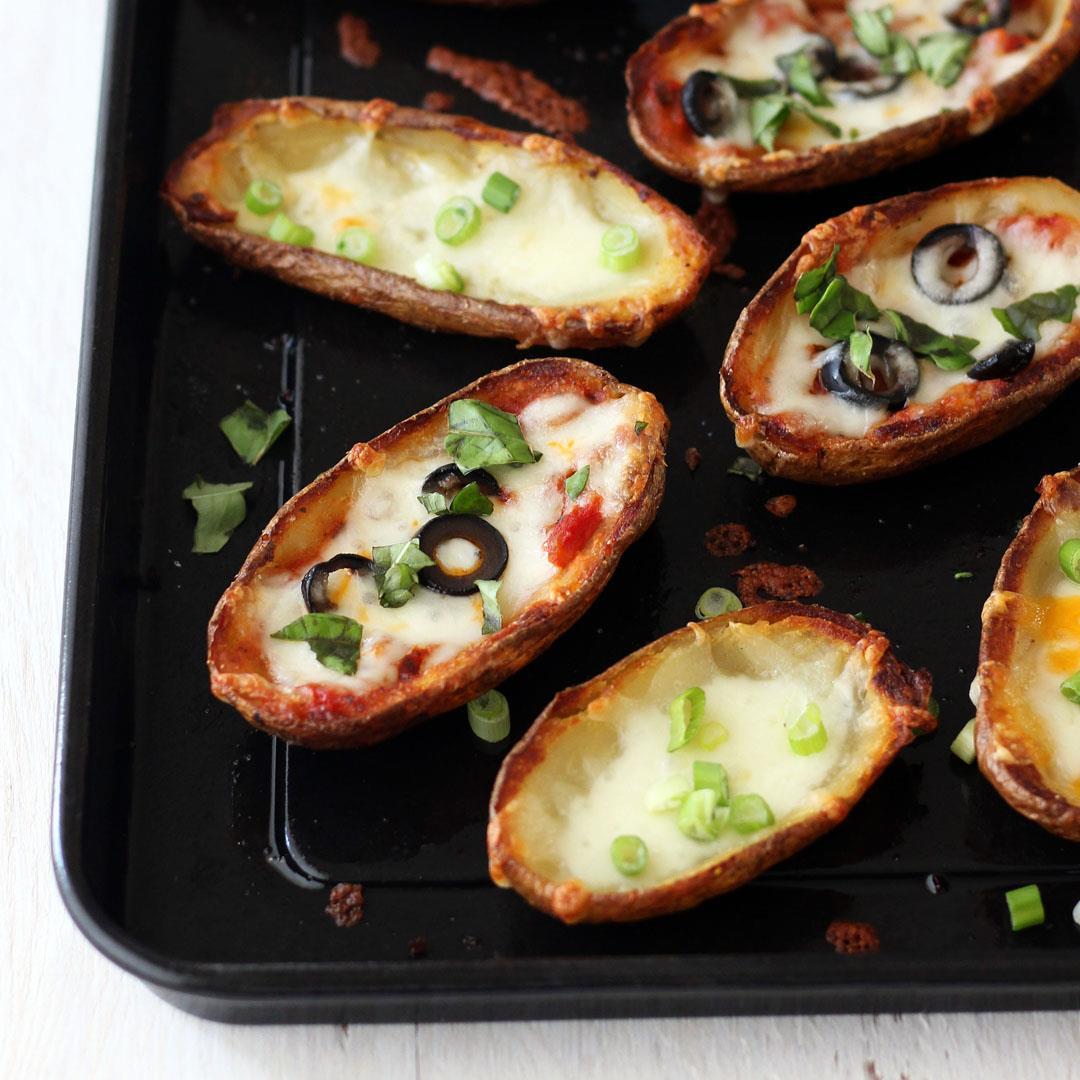 Toaster Oven Potato Skins