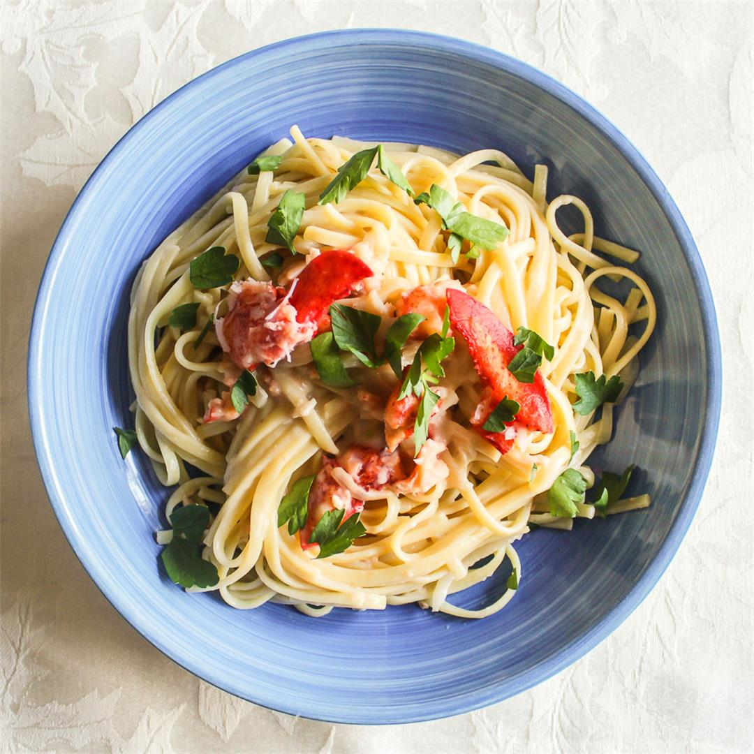 Linguine Lobster Dijonnaise