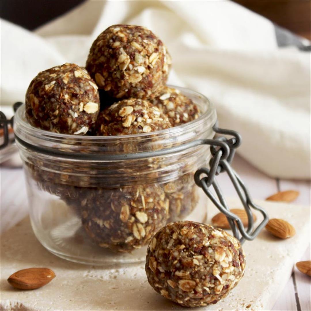 Chewy, Sugar-free Energy Bites