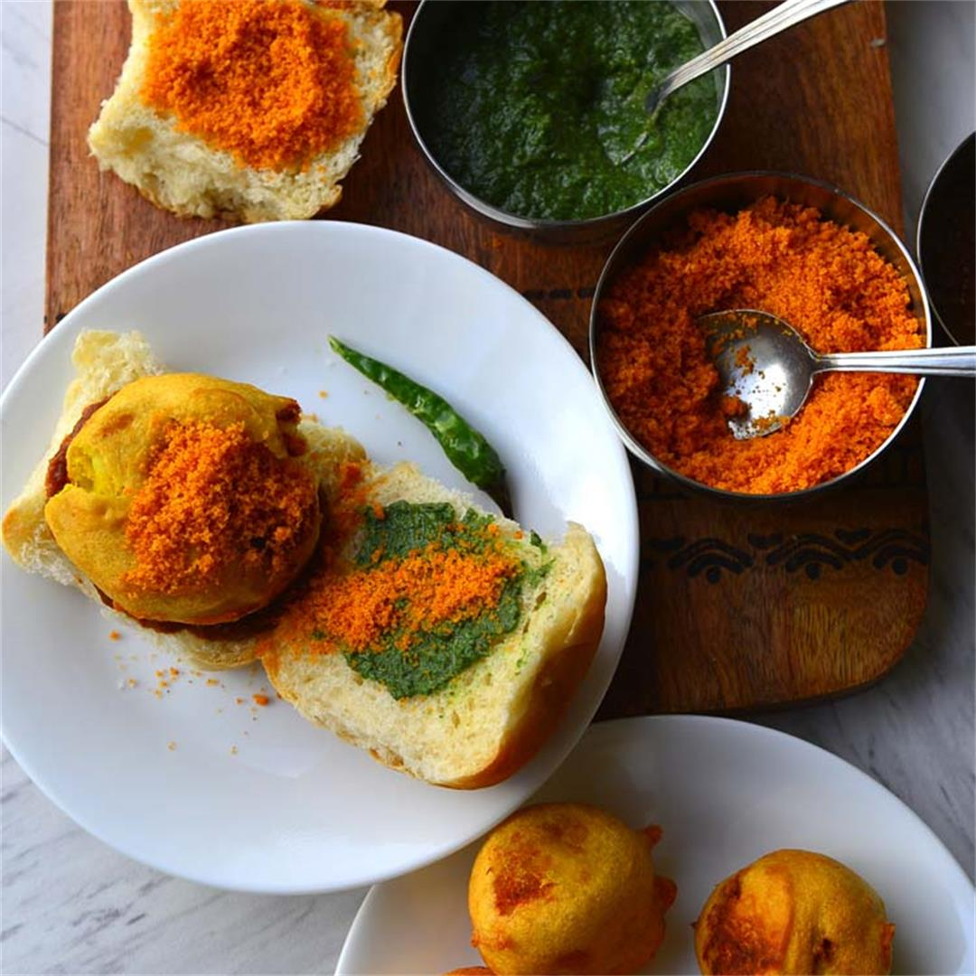 Vada Pav -  Indain  Street Food