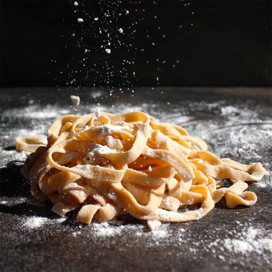 How to make Homemade Sweet Potato Pasta