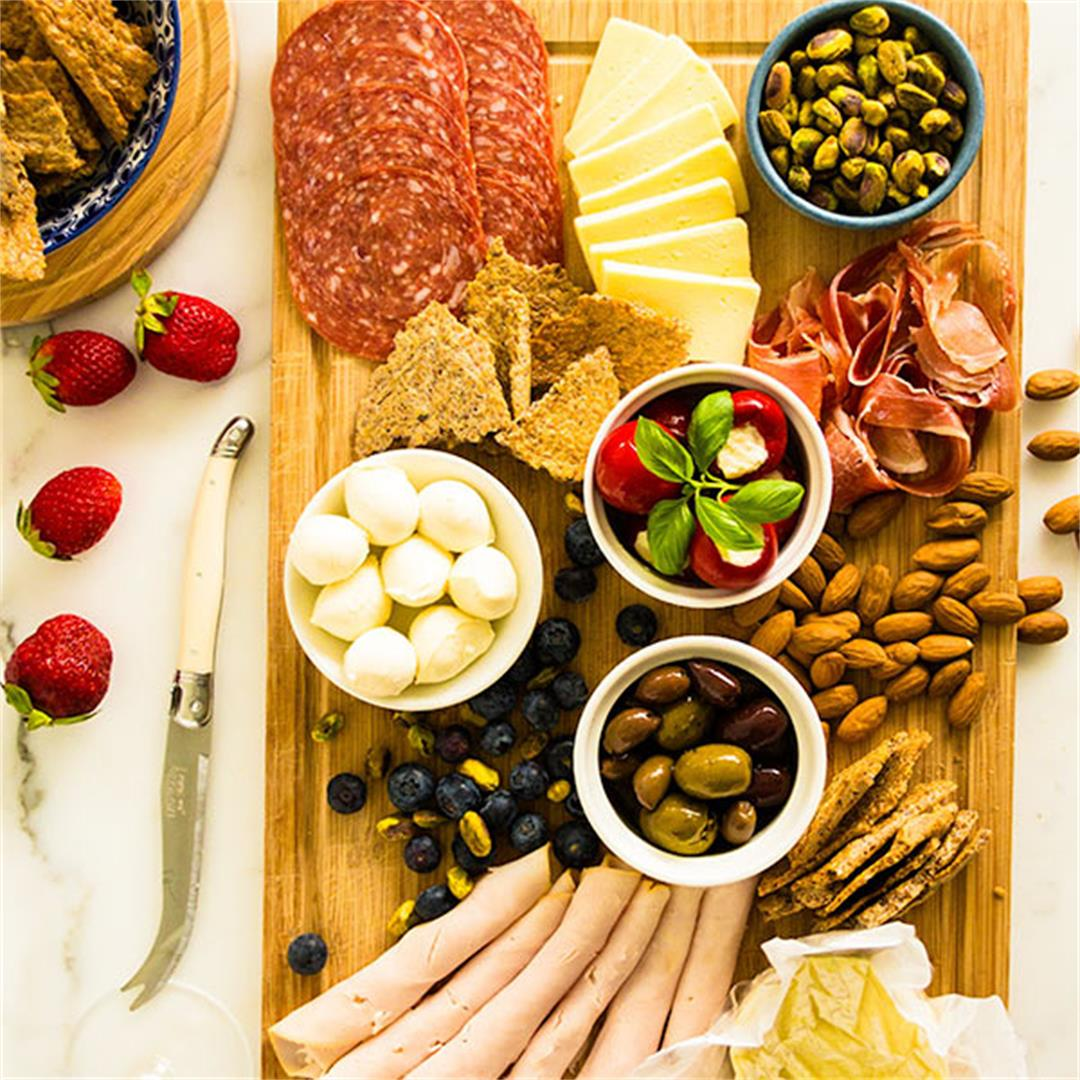 The Ultimate Low-Carb Antipasto Platter