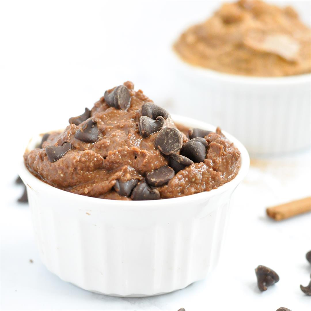 Chocolate Snickerdoodle Dessert Hummus