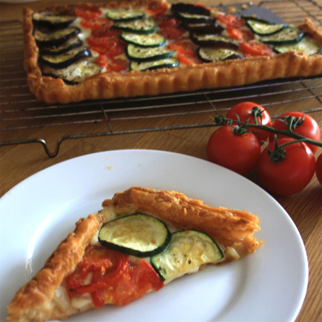 Vegetable Mozzarella Tart