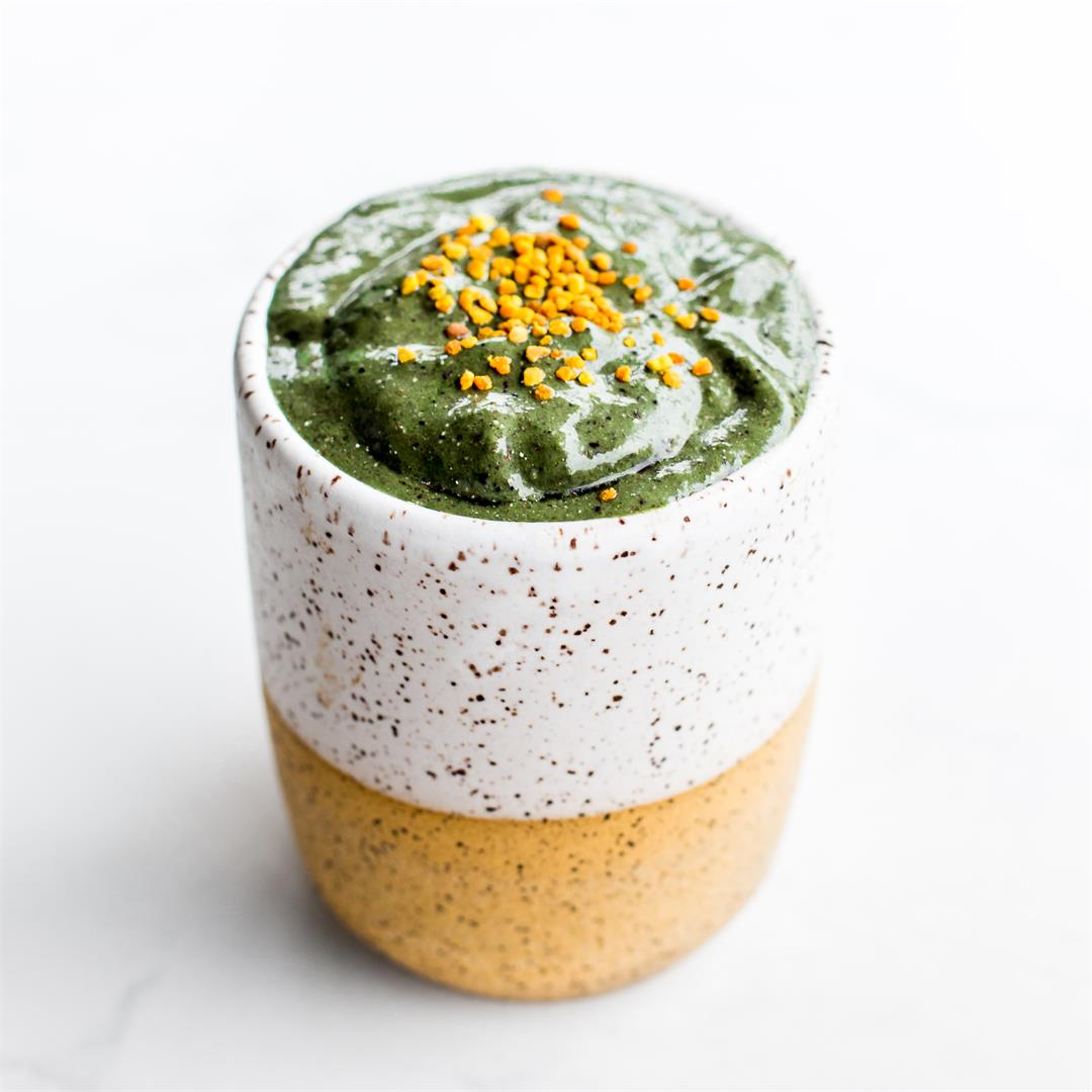 Blueberry Spirulina Smoothie