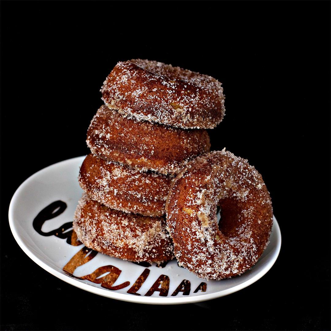 Gluten Free Keto Cinnamon Spiced Donuts
