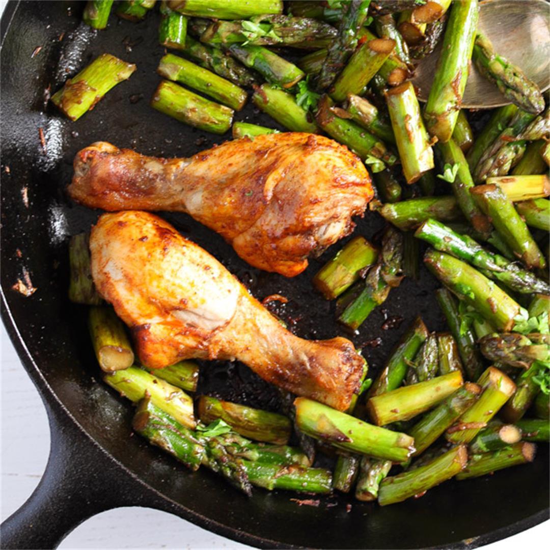 Sauteed Asparagus with Garlic