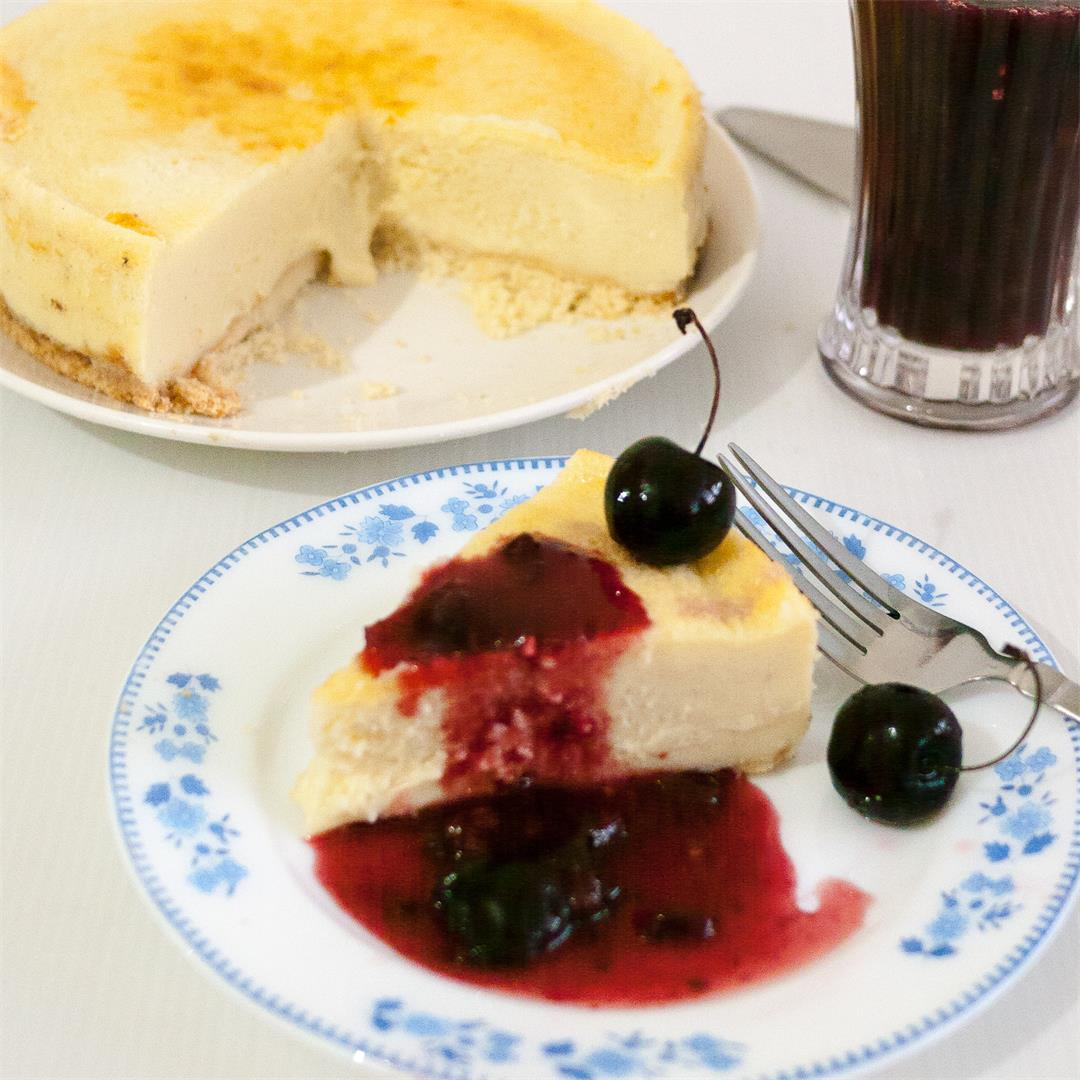 Classic Cherry Cheesecake Recipe