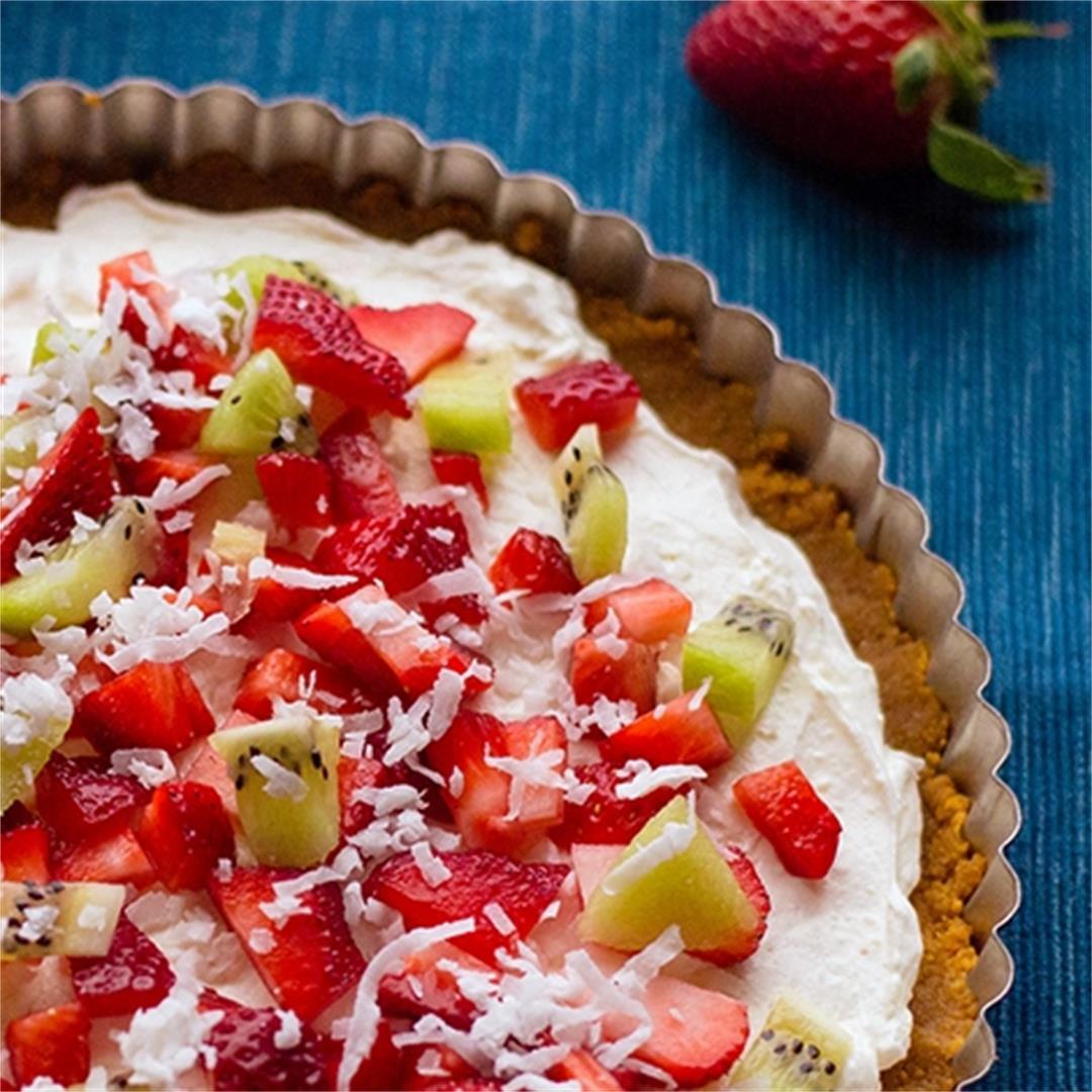 No-Bake Fruit Pizza
