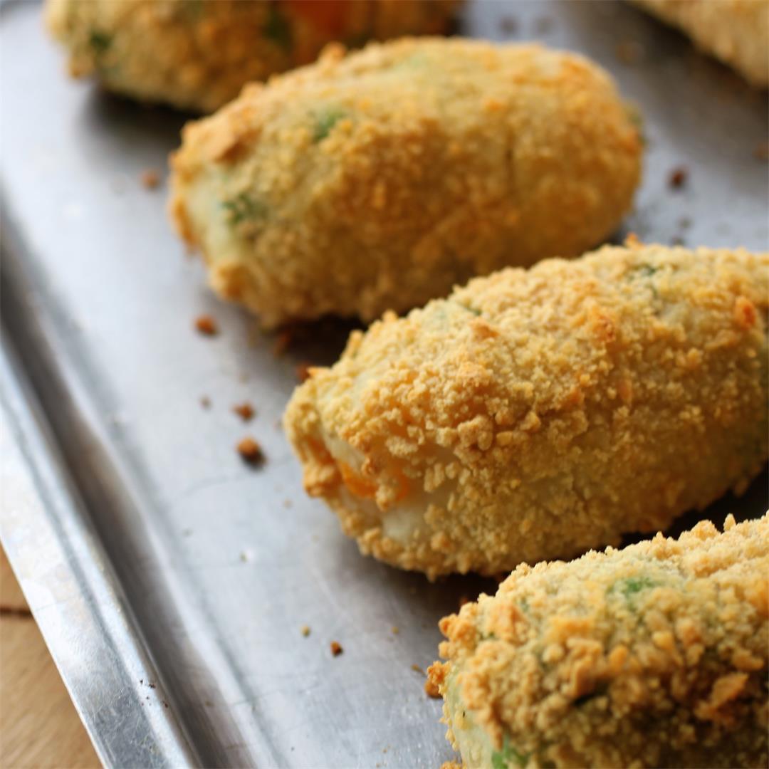 Veggie Croquettes (Vegan, GF)