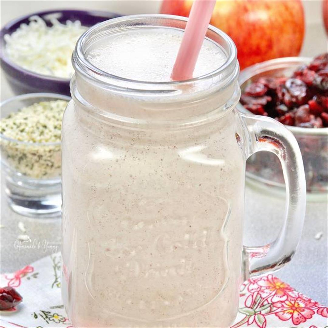 Apple Cottage Cheese Smoothie