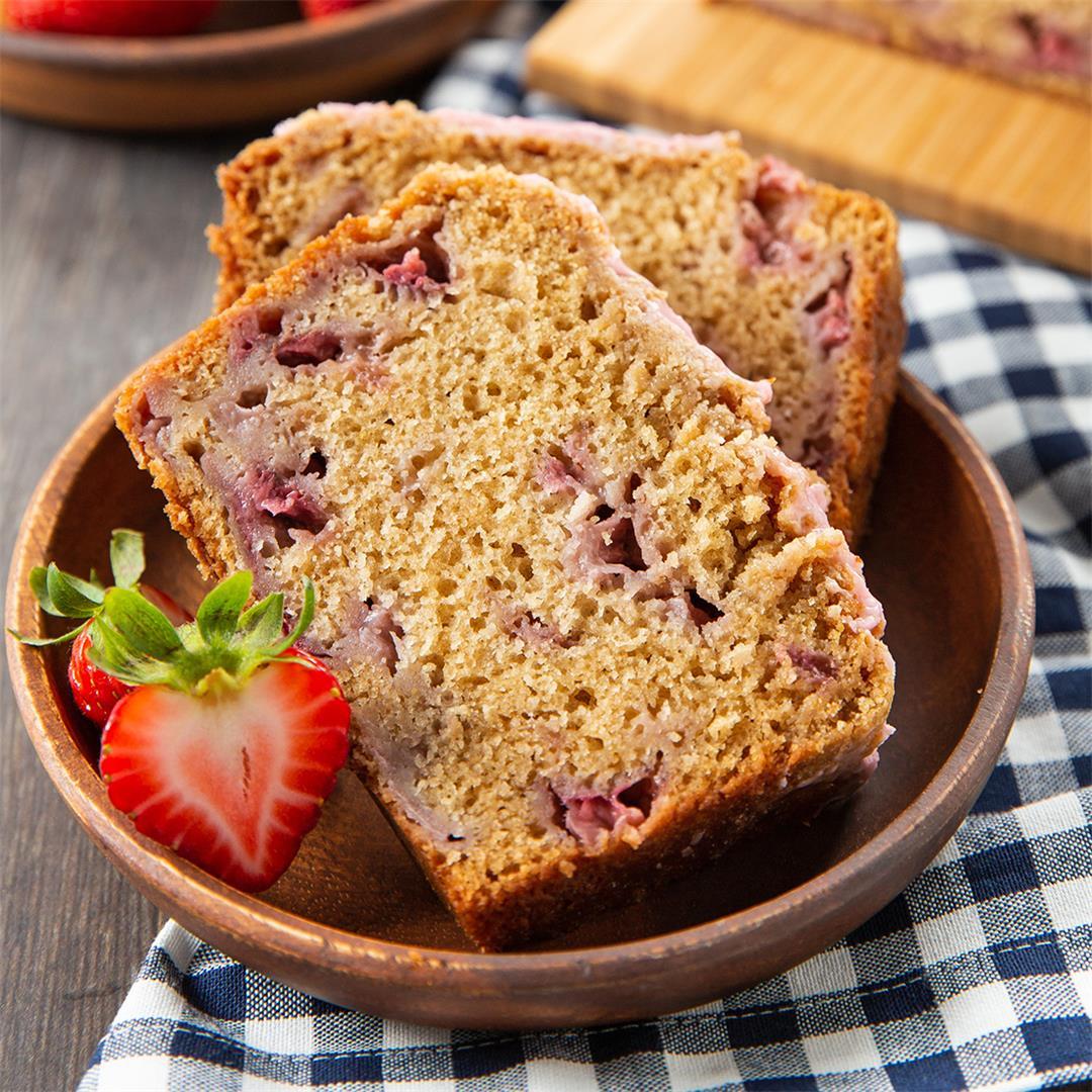 Strawberry Crumb Bread
