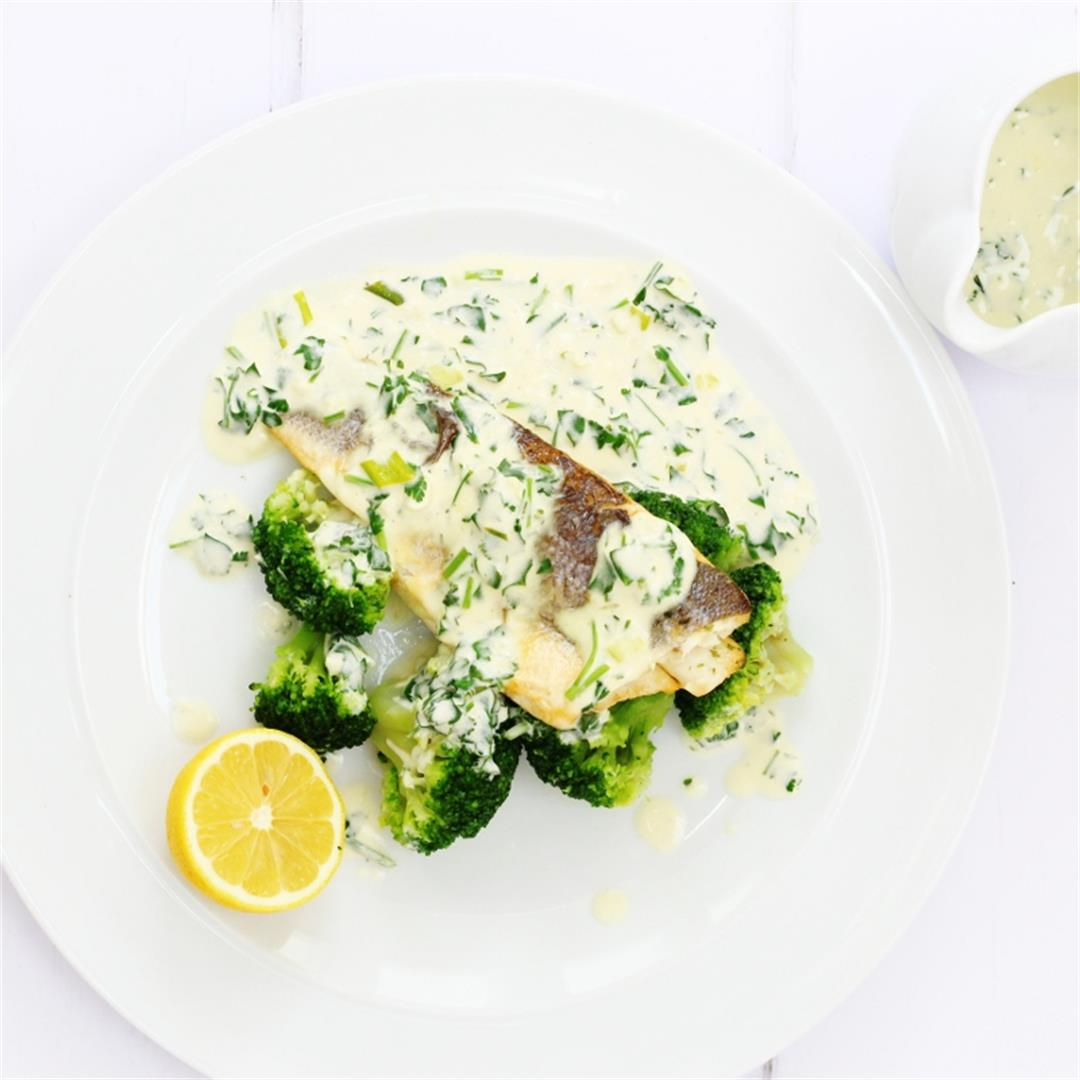 Lemon and Parsley Sauce for Fish