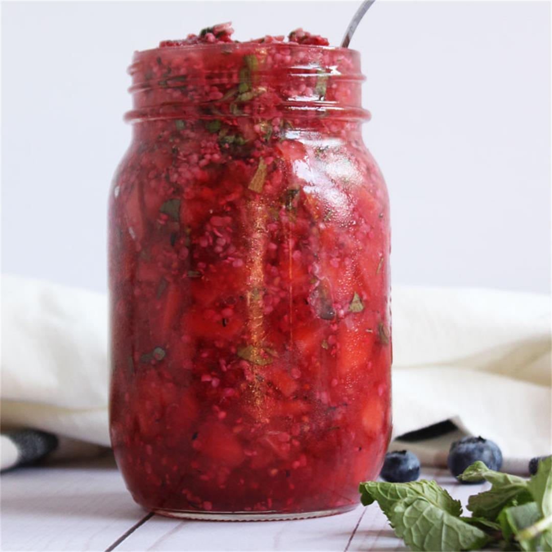 Mint Berry & Hemp Salsa