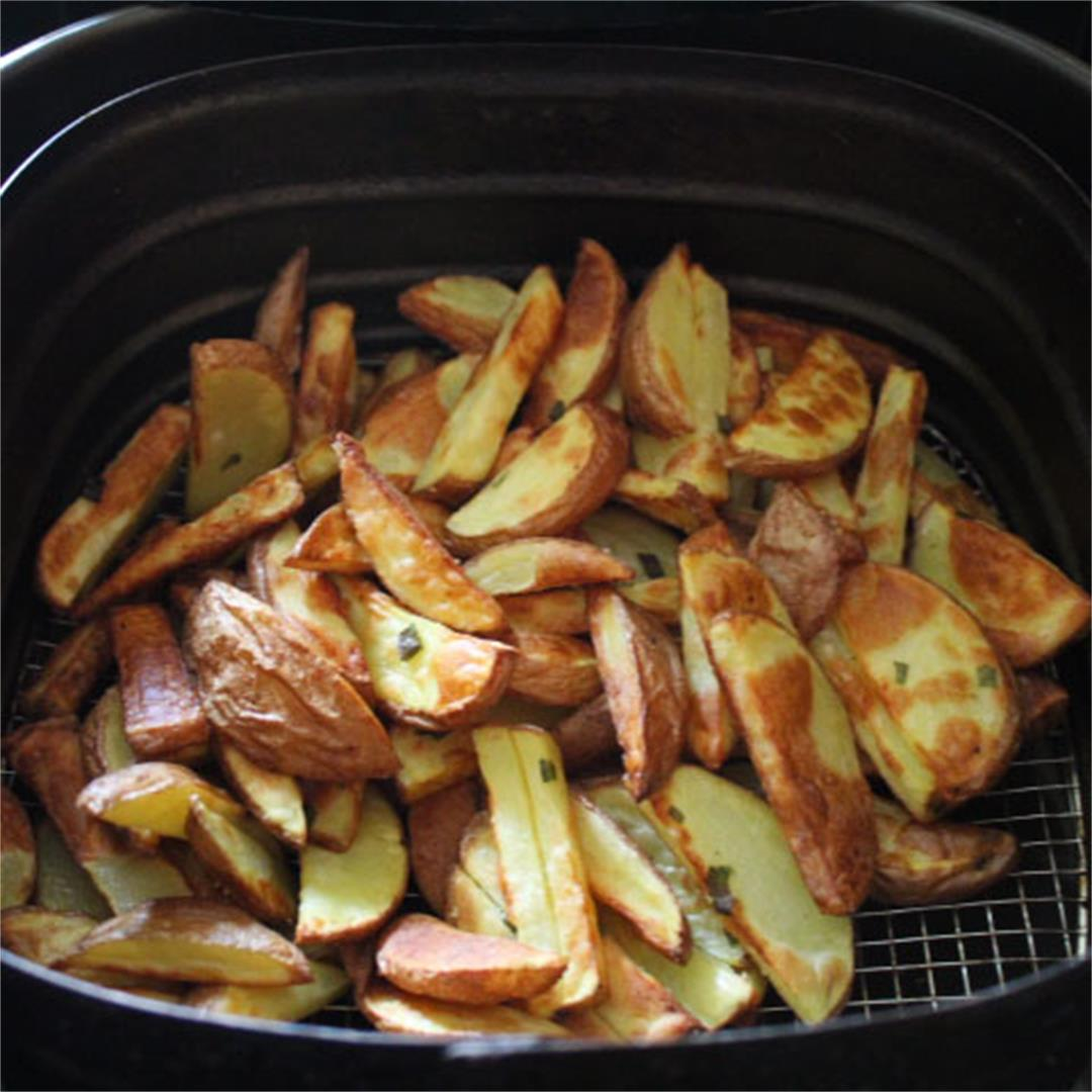 Skin On Air Fryer French Fries