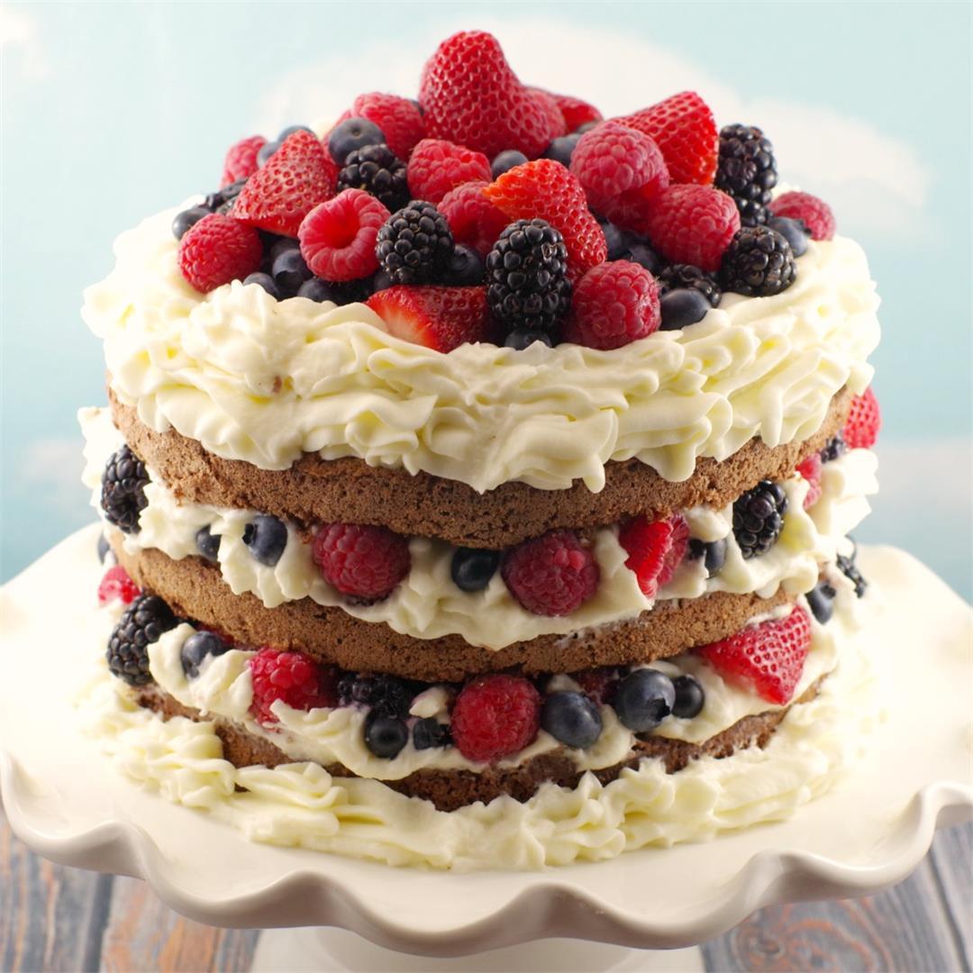 Chocolate Italian (Genoise) Sponge Cake