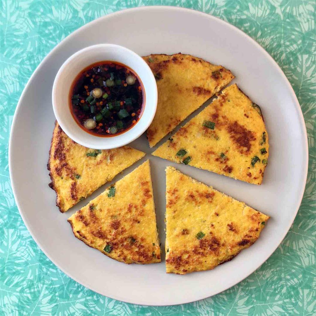Low Carb Keto Scallion Pancake