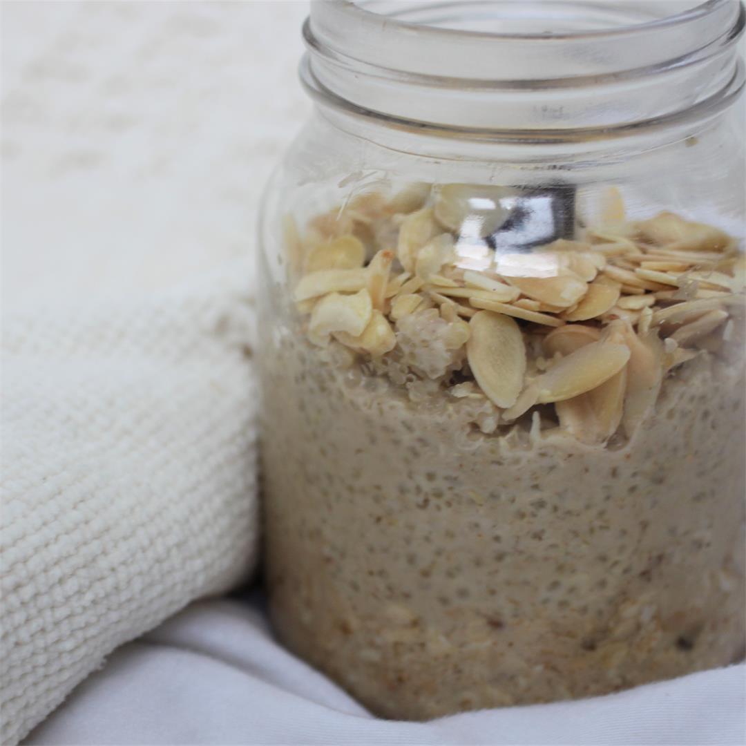 Overnight Peanut Quinoa