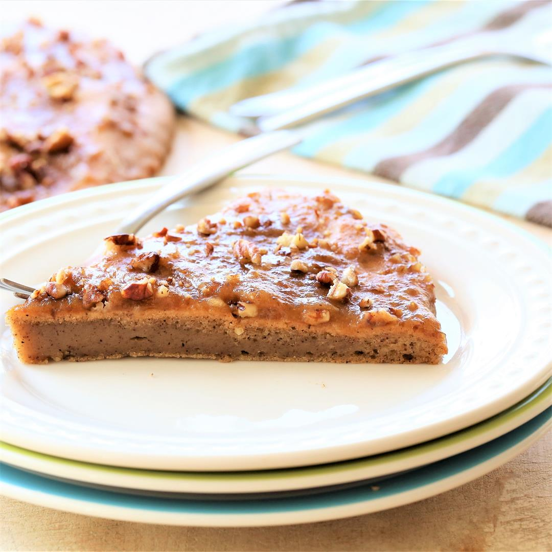 Cinnamon Breakfast Cake With Date Glaze