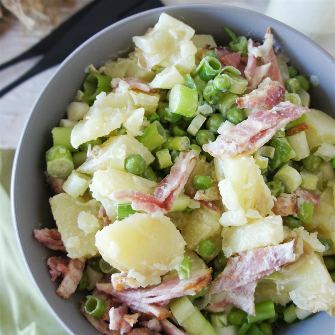 Recipe for a delicious creamy Potato salad