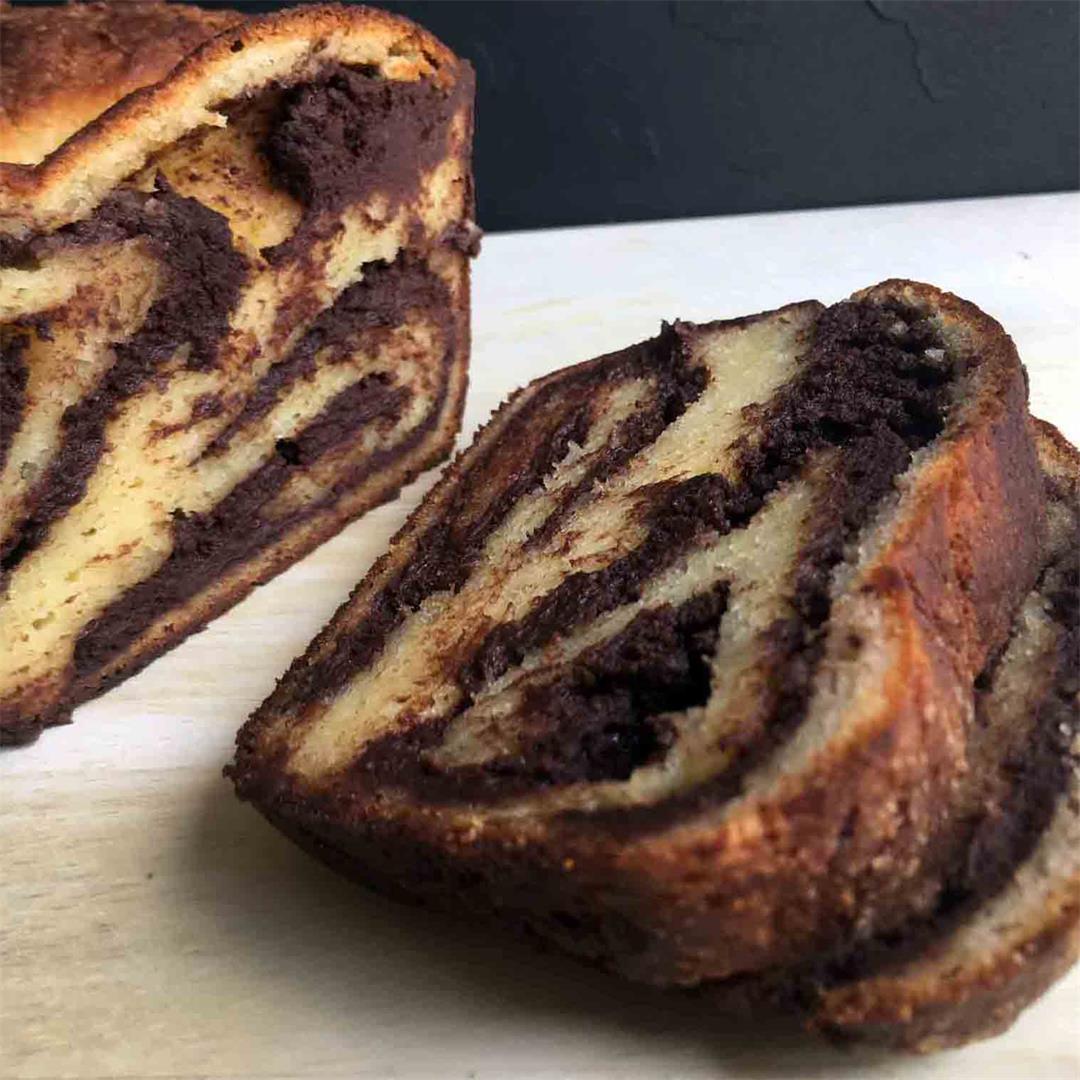 Low Carb Keto Chocolate Babka