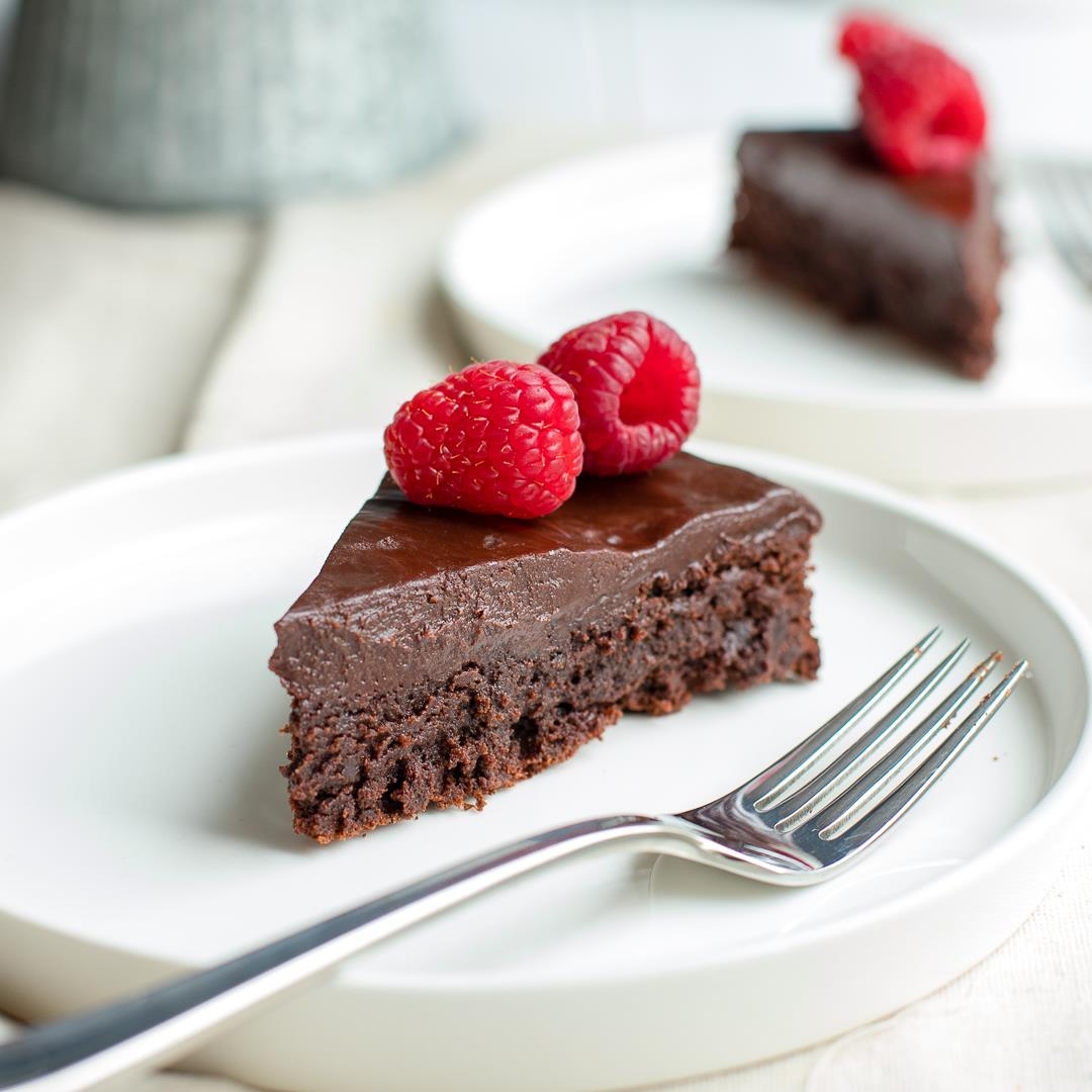 Perfect Flourless Chocolate Cake