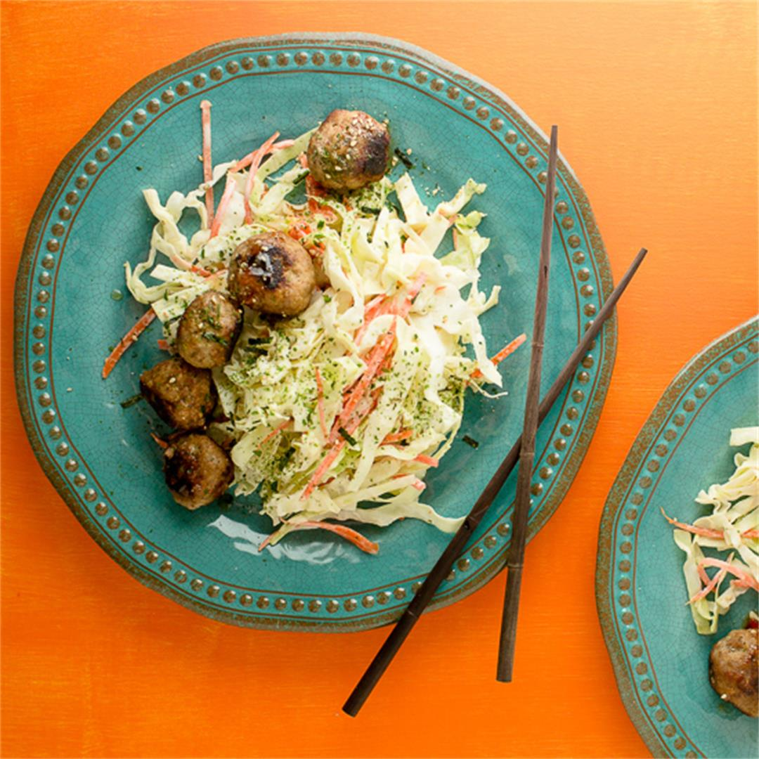 Chicken, Lemongrass and Ginger Meatballs