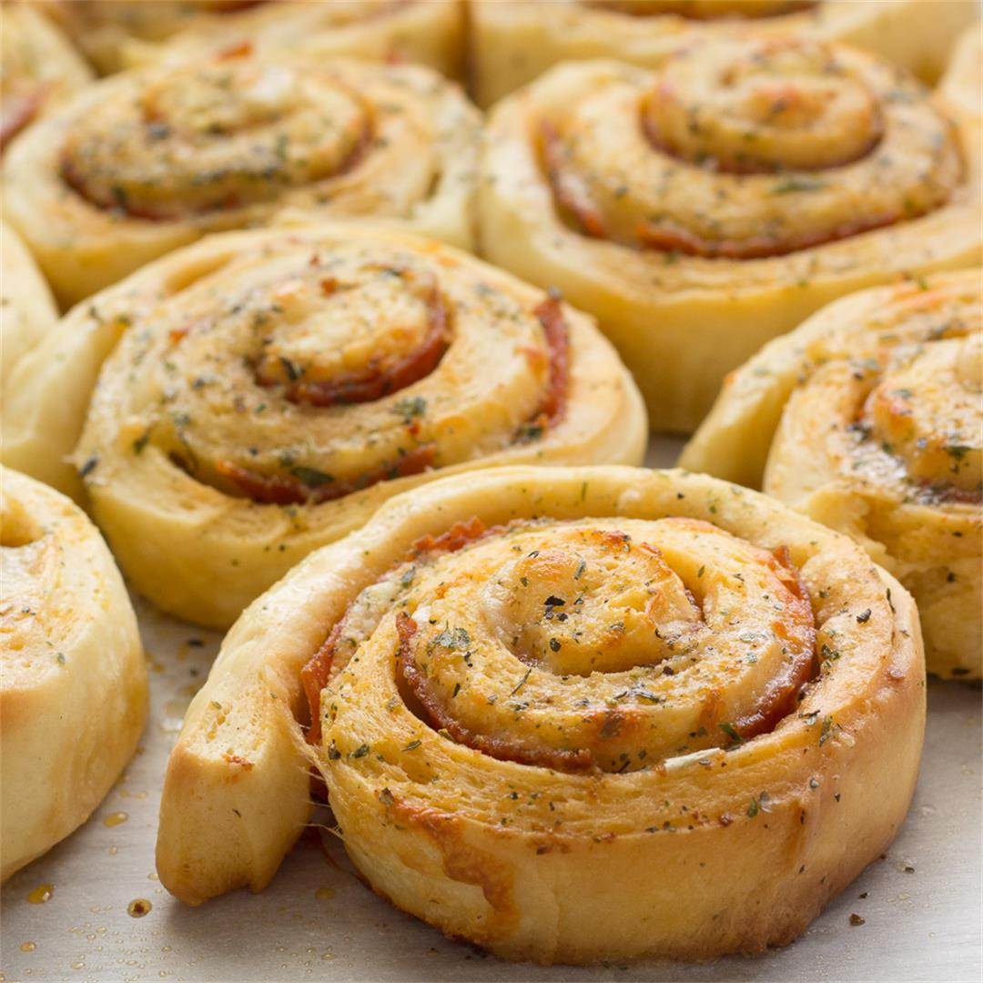 Pepperoni Roll-ups, an all ages family favorite.