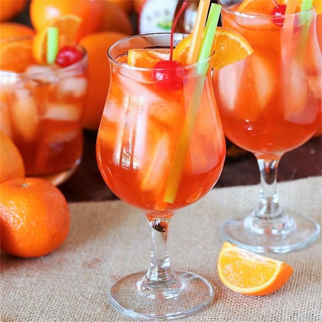 Orange Creamsicle Shirley Temple
