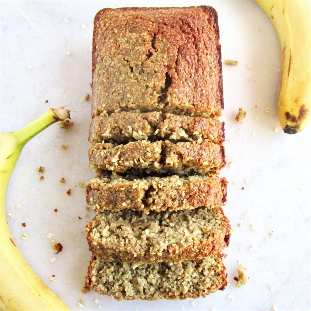 Best Ever VEGAN Banana Bread (Gluten-Free!)