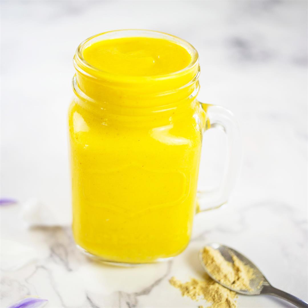 Mango Smoothie with Maca - Dairy Free & Paleo