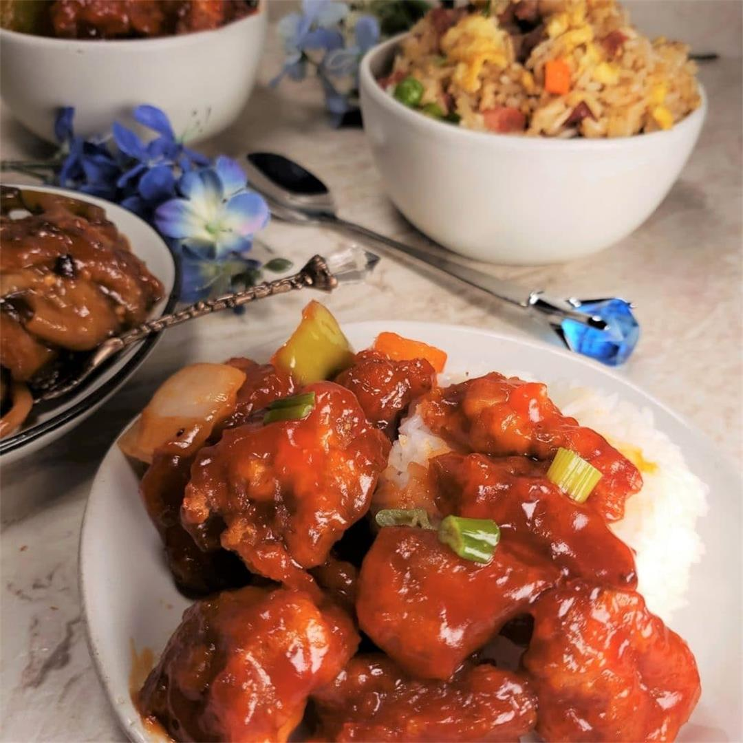 Instant Pot GEM Multi-Cooker Chinese Sweet and Sour Pork