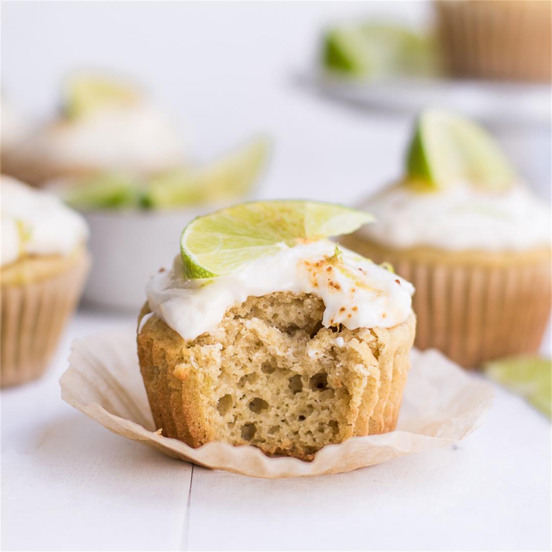 Gluten-Free Key Lime Cupcakes