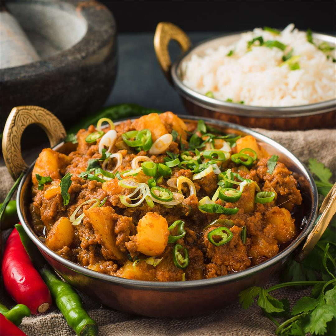 Indian Beef and Potato Curry