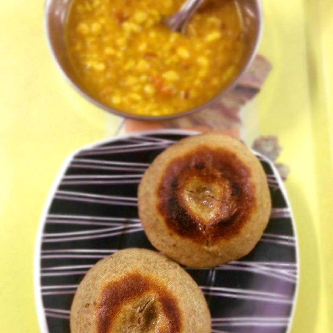 Homemade Dal Bati - Experiencing flavor of Rajasthan