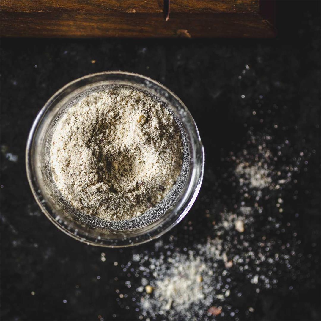 quick and easy mushroom salt