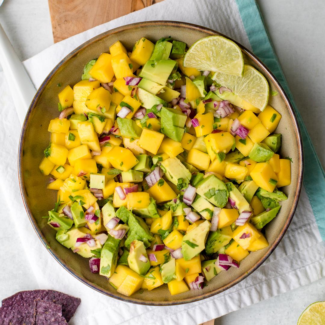 Fresh Mango Avocado Salsa
