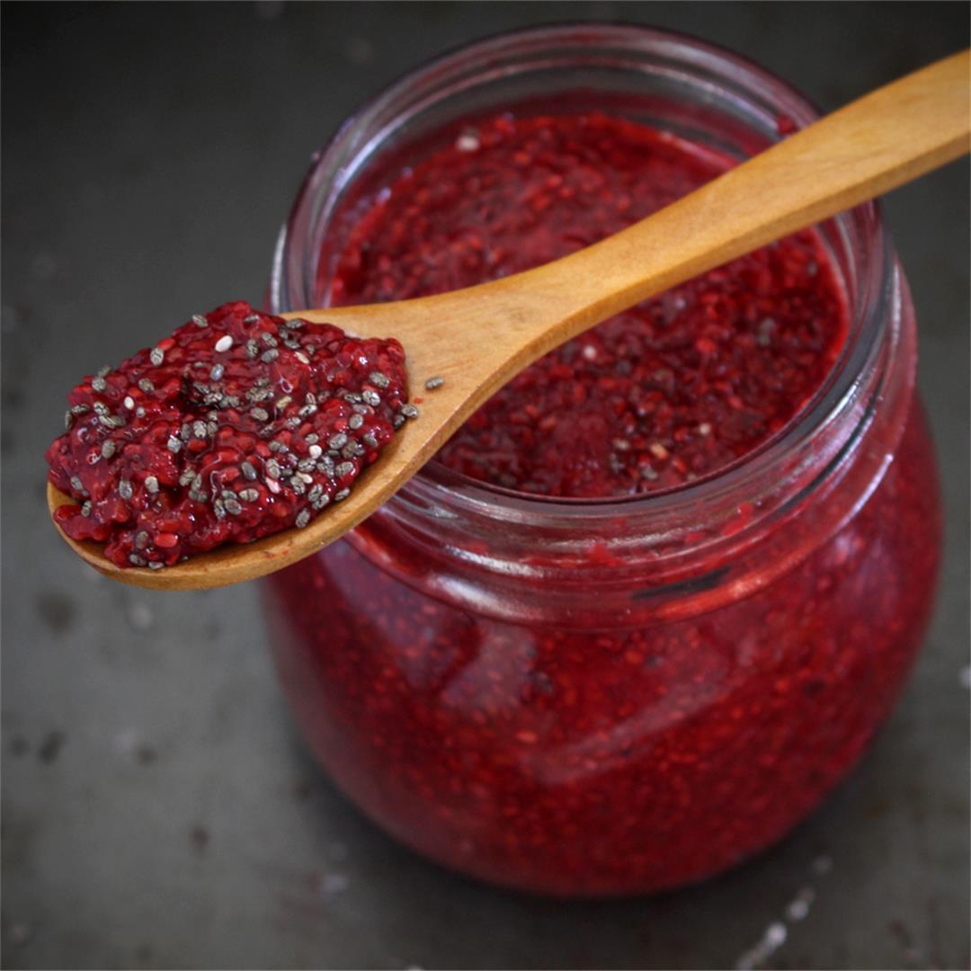 Raspberry and Chia Jam