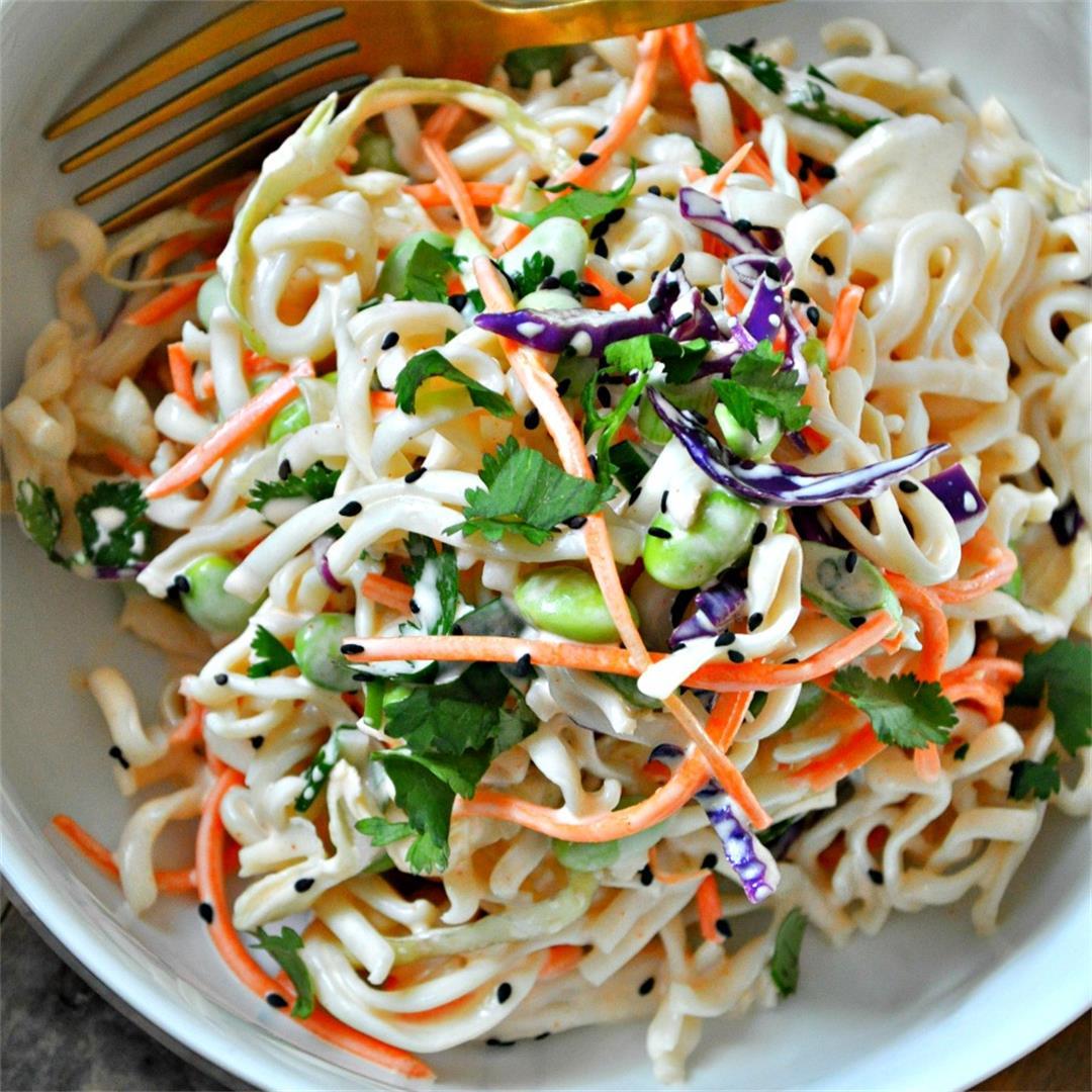 Vegan Cold Yum Yum Noodle Salad